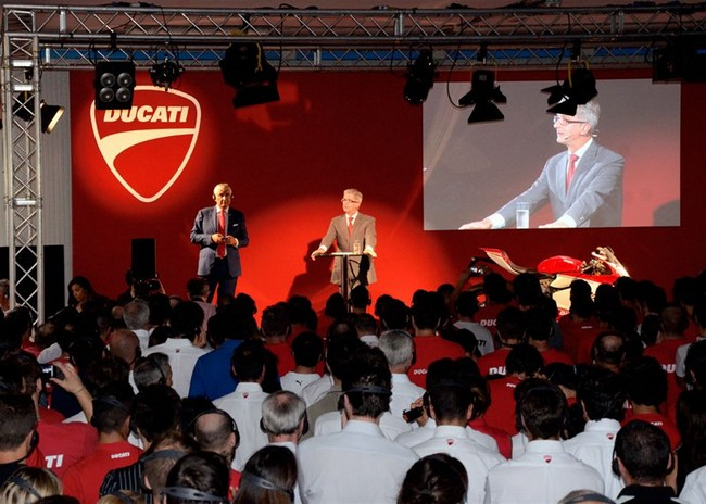 В компании Audi уверили - Ducati останется Ducati