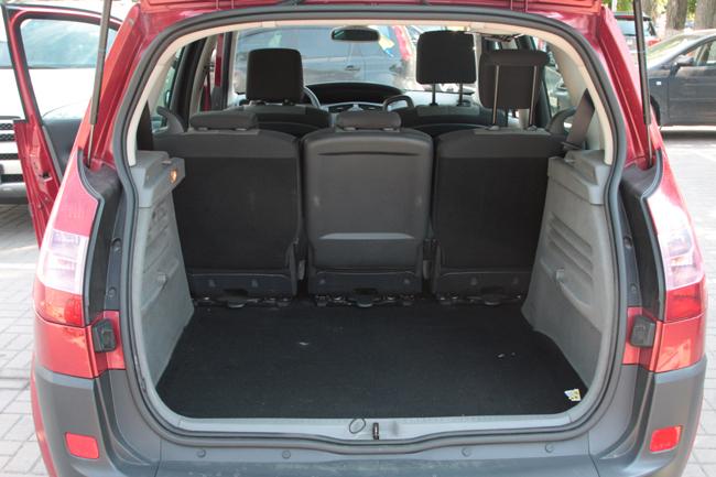 Багажник Renault Scenic II