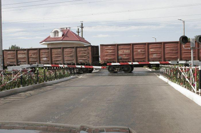 нарушения правил проезда ж/д переездов