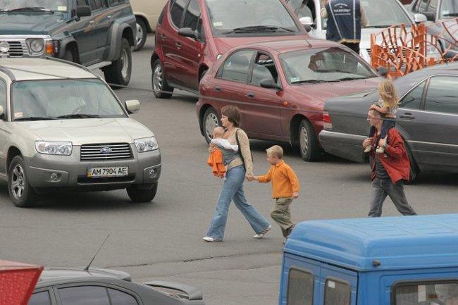 Украинские автодороги