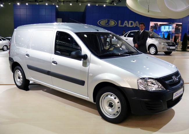 Фургоны Lada Largus