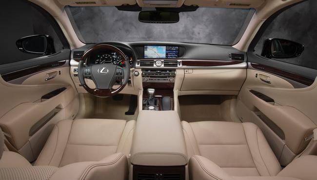 Новый Lexus LS дебютировал в США