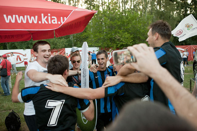 KIA Sportage - приз за футбольную страсть