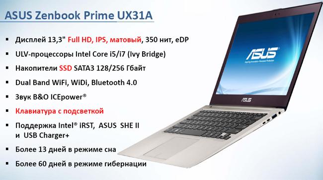 новые модели Asus