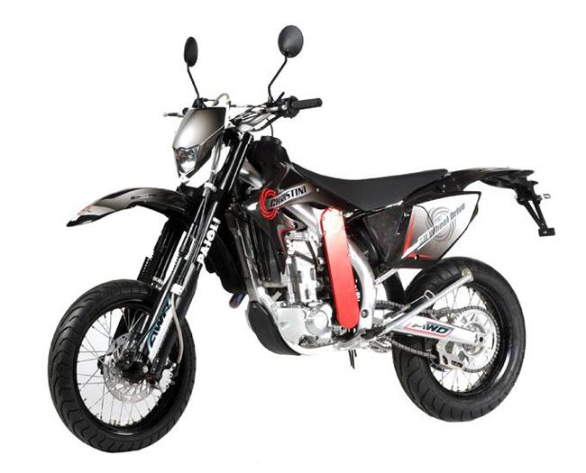 Полноприводные мотоциклы Christini