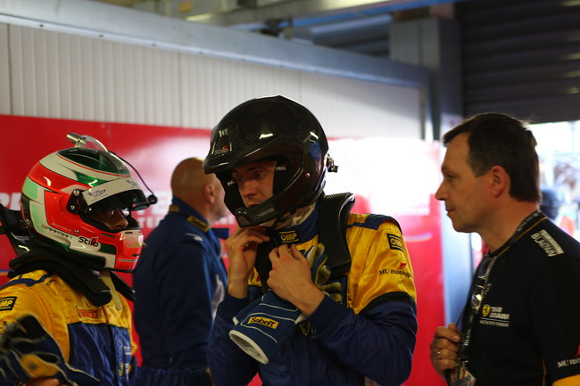 Team Ukraine racing with Ferrari