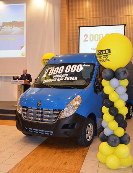 2-миллионный Renault Master