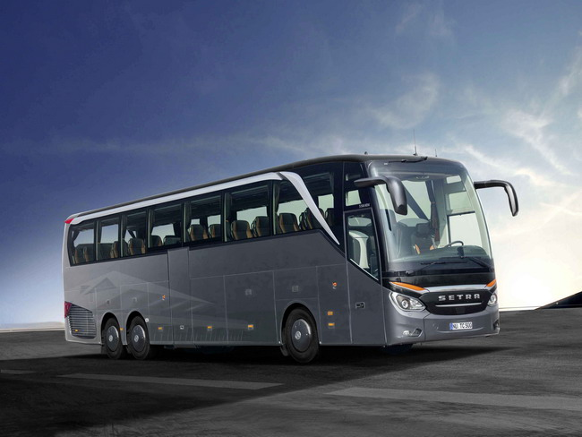 У Setra – новый флагманский автобус TopClass 500