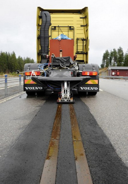 Volvo FH12 на электротяге