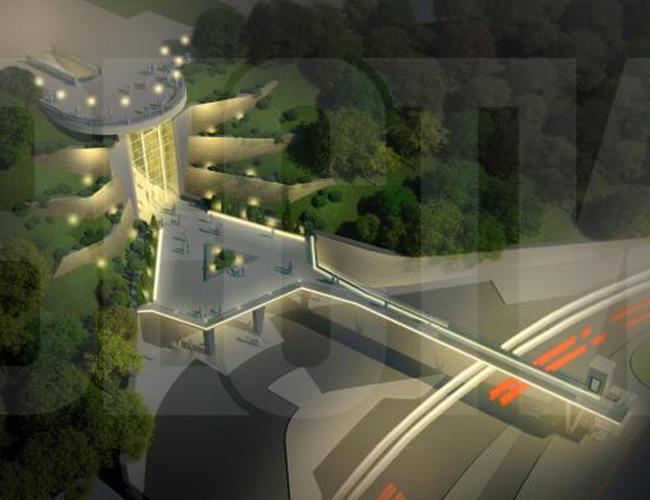 реконструкция Парковой дороги в Киеве