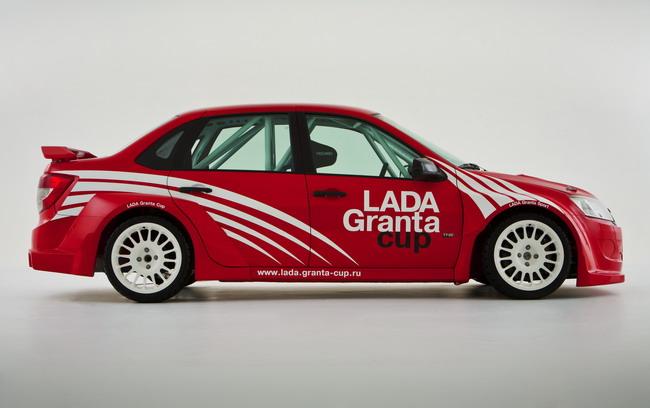 Lada Granta Sport построена известным российским предприятием ТМС (он же Торгмаш)