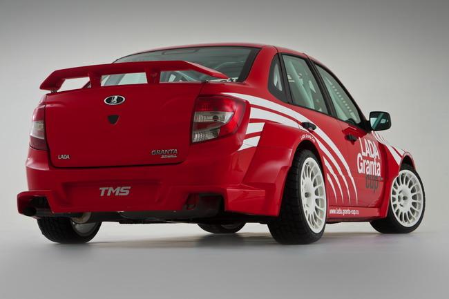 Lada Granta Sport: ходовая часть доработана для лучшей устойчивости.