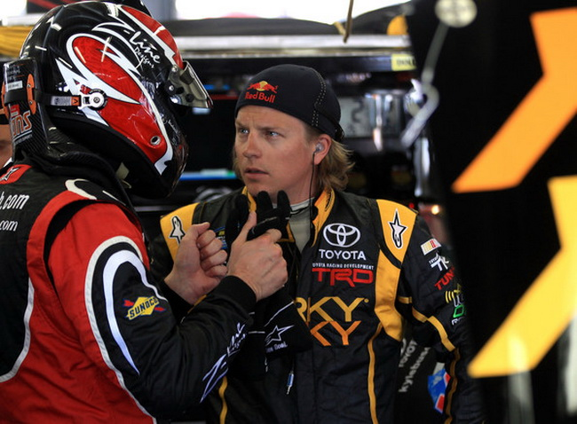Кими Райкконен возвращается из NASCAR в WRC