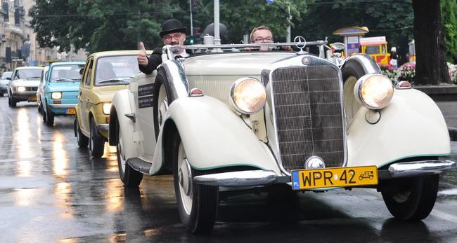 фестиваль ретроавтомобилей Leopolis Grand Prix 2011