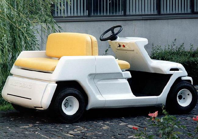 Лада Гольф - один из электромобилей, чей дизайн создан на ВАЗе под общим руководством Марка Демидовцева