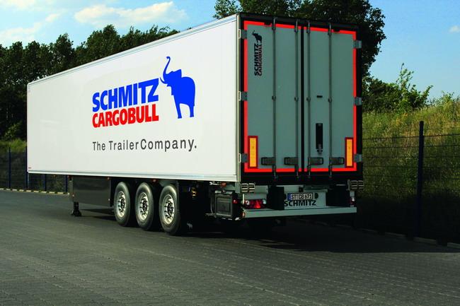 контурная маркировка для грузовиков и прицепов