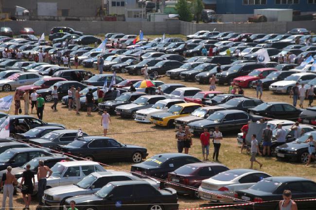 10 международный фестиваль BMW в Киеве