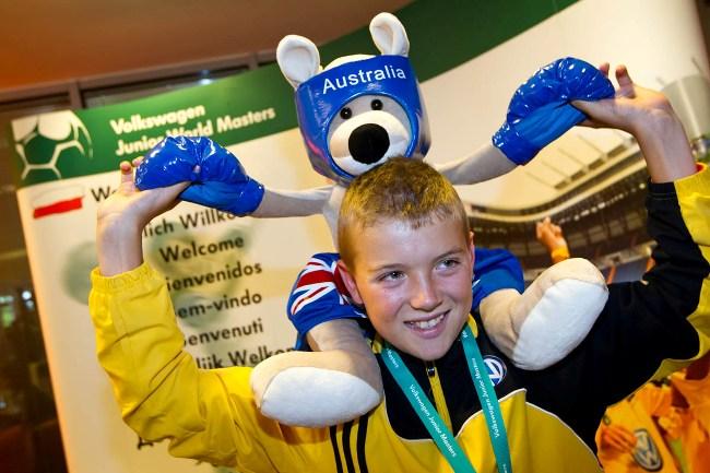 Футбольный турнир Volkswagen Junior World Masters 2012 определил победителя