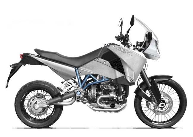 Биодизельный мотоцикл