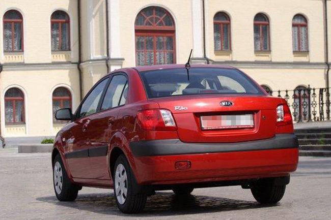 Седан Kia Rio II 2005-2009 г.в.
