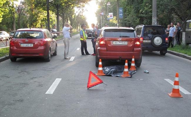 В Киеве за 2 дня на дороге погибло трое детей