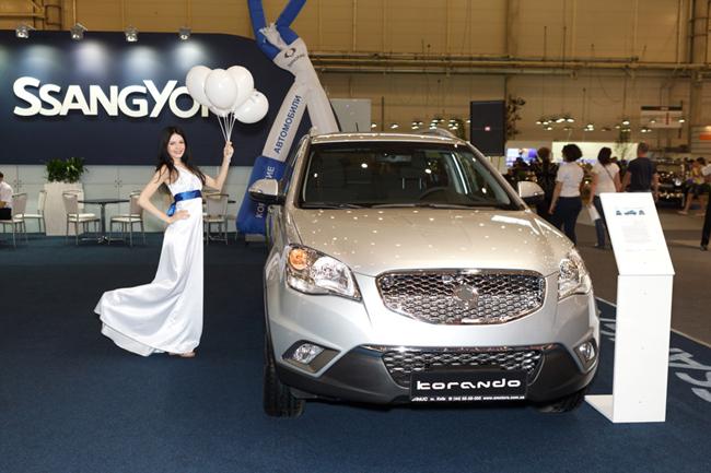 SsangYong Korando с бензиновым двигателем