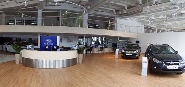 Компания «Интерциклон» стала долгожданным дилером Subaru!