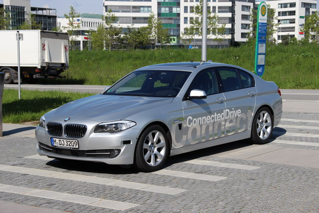 беспилотный автомобиль BMW