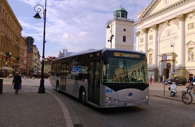электробус BYD eBus
