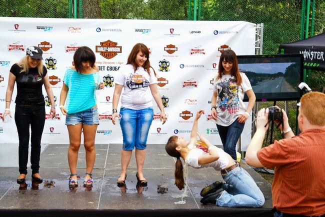 Harley-Davidson Kiev на фестивале Рок'n'Сич
