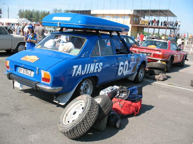 Ретро-фестиваль автомобилей