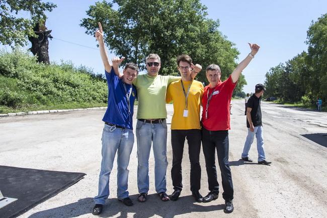 Украинцы в марафоне Porsche Performance Drive