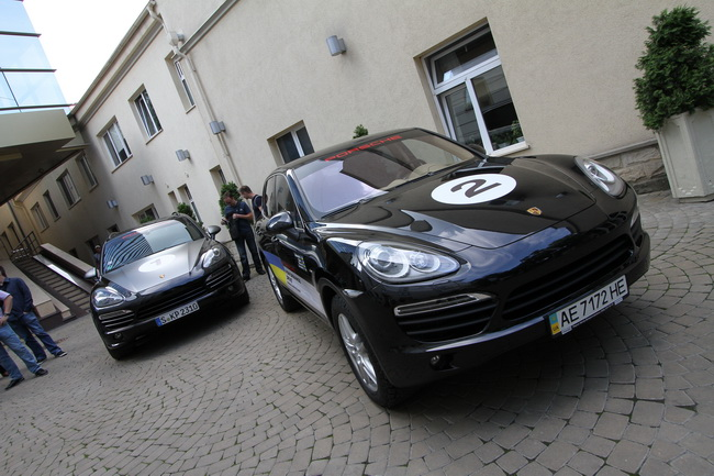 Украинская команда в марафоне Porsche Performance Drive