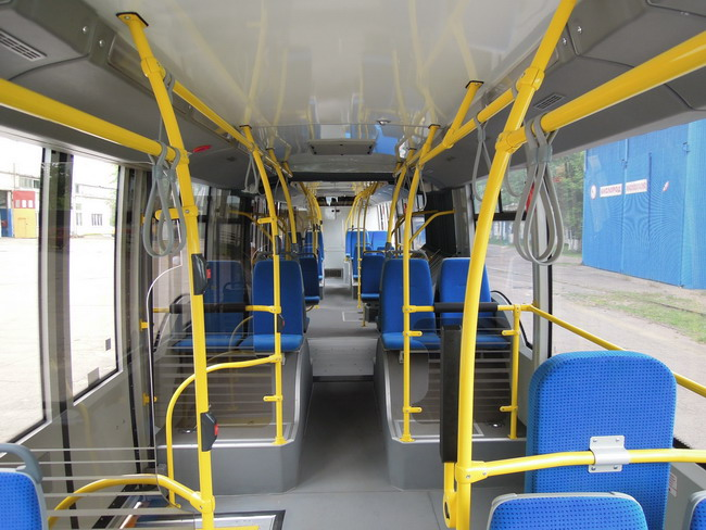 новый троллейбус с гибридным приводом из Белоруссии