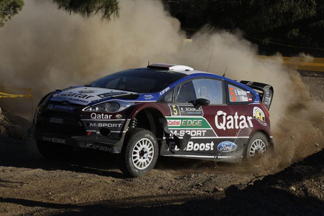 Гонка Acropolis Rally 2013