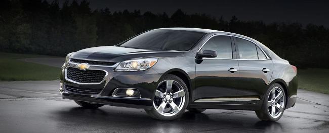 Обновленный Chevrolet Malibu