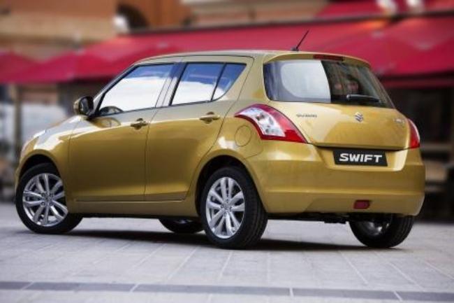 Обновленный Suzuki Swift