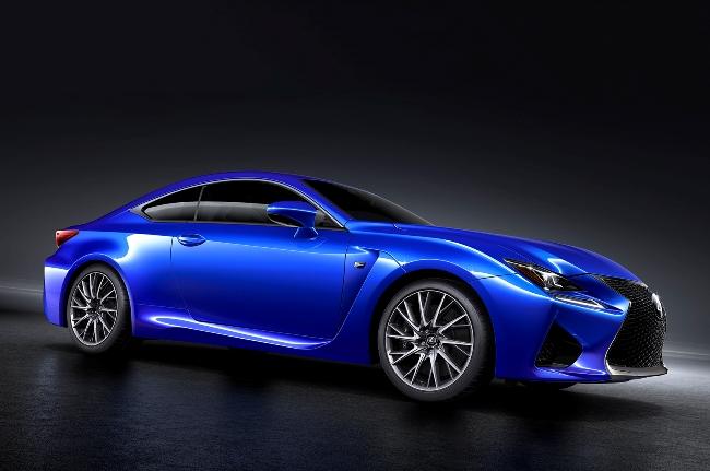новый Lexus RC-F