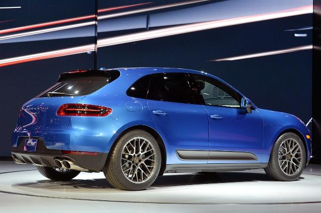 Автосалон в Лос-Анджелесе 2013: новый Porsche Macan