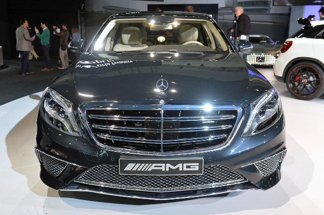 Автошоу в Лос-Анджелесе 2013: новый Mercedes-Benz S65 AMG