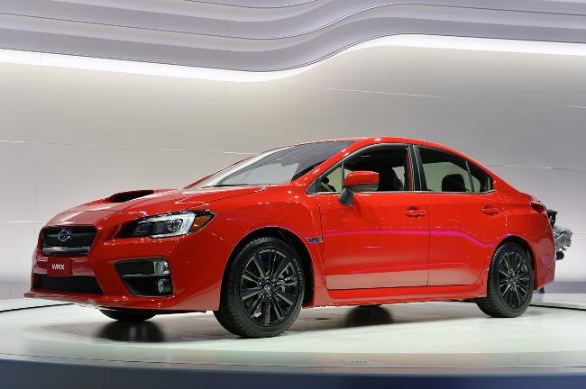 Автосалон в Лос-Анджелесе 2013: новый Subaru WRX