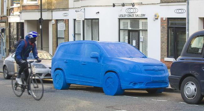 Пластилиновый Chevrolet Orlando