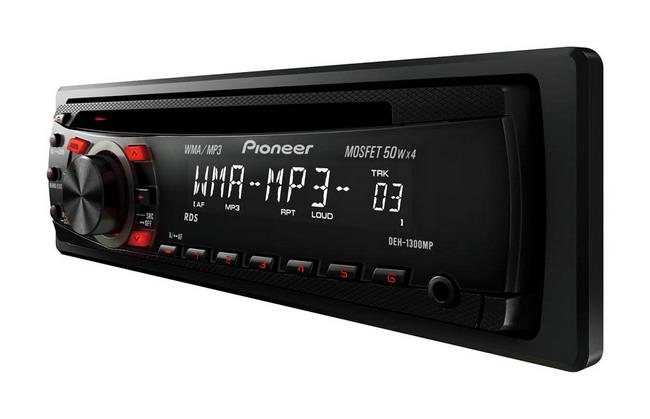 По предварительным данным, модель начального уровня Pioneer DEH-1300MP будет стоить порядка 900 грн.