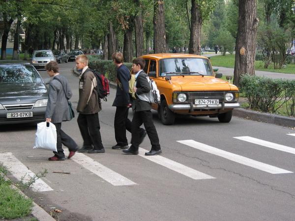 дети на дорогах