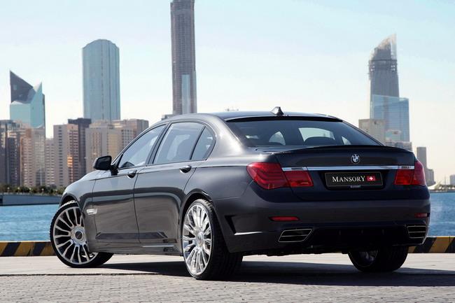 MANSORY предложила пакет преобразований для действующей BMW 7 серии