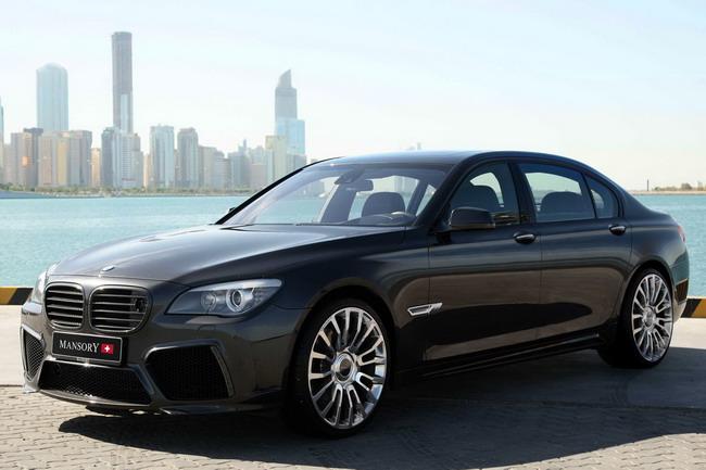 BMW 7 Series от MANSORY стал динамичнее внешне и на деле