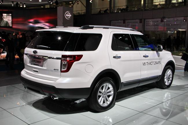Новинки Ford на Московском автосалоне 2012