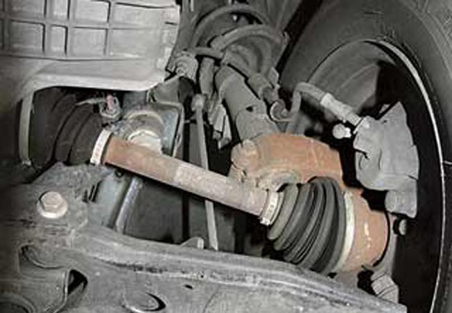 передняя подвеска Ford C-Max