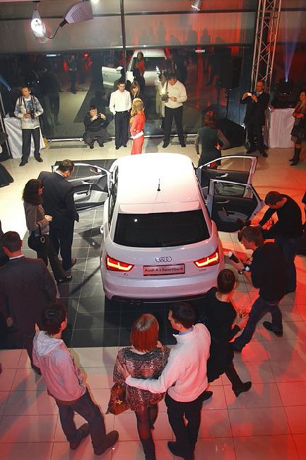 Фото новых моделей Audi, презентованных в Украине