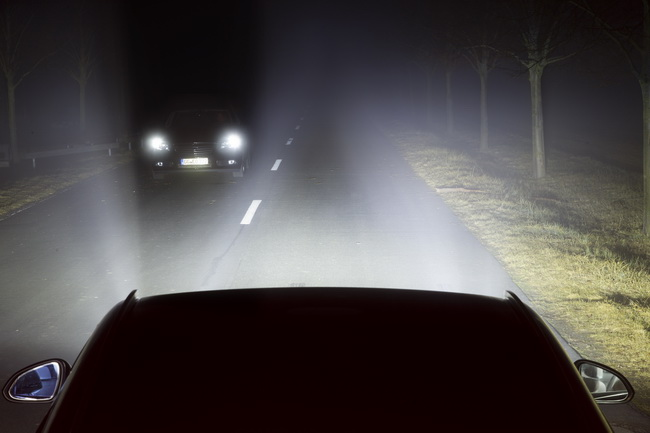 Opel разработал матричную светодиодную систему головного света